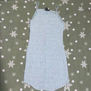 Light blue basic dress
